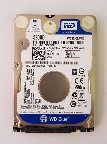 Disco WD 2.5'' HDD 320Gb para portátil PC/PS3 Troco