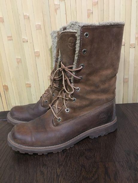 Ботинки кожаные демисезон 39р Timberland / Тимберленд