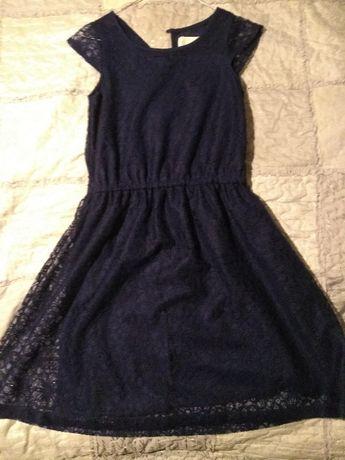 Sukienka dziewczęca z krótkim rękawem, roz 158