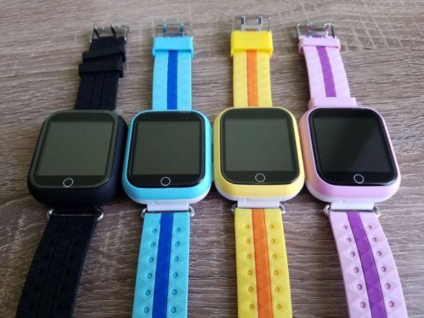 Детские смарт часы Q100s/Q750 Оригинал smart baby GPS watch + пленка