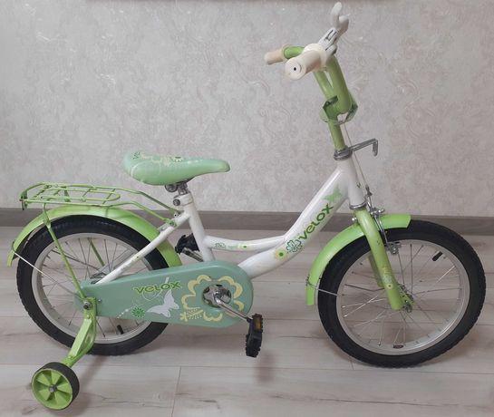 """Велосипед Velox(Велокс) 16"""" для девочки 3-7лет"""