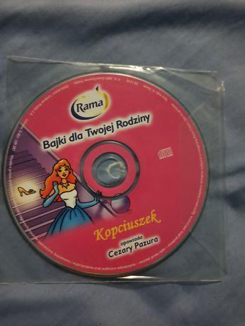 Płyta CD Kopciuszek opowiada Cezary Pazura