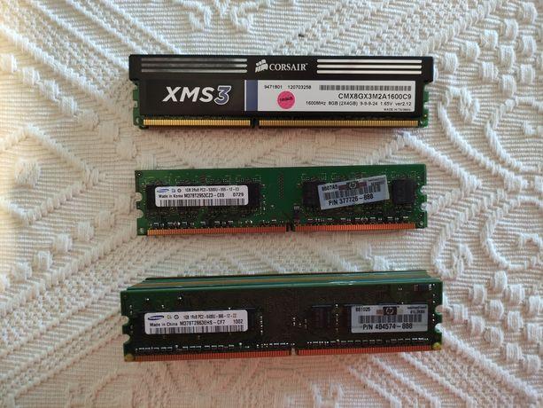 Memórias RAM DDR2 para desktop
