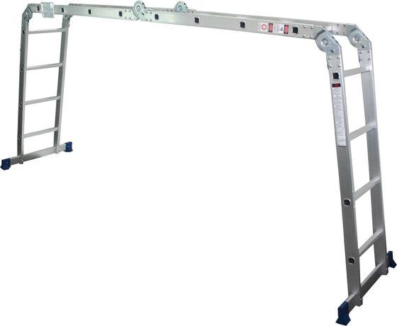 Escada multiusos articulada 3x4, com plataforma - MADER