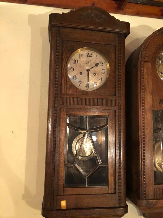 Zegar wiszący Gustav Becker antyk Łódź - image 1