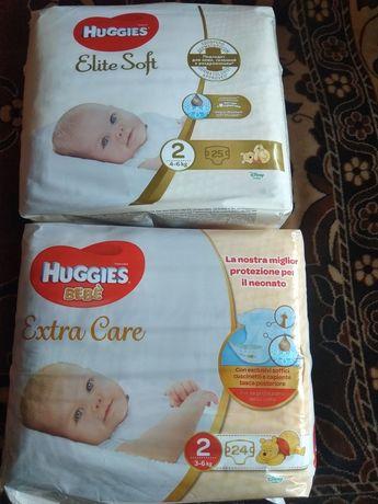Продам новые памперсы Huggies