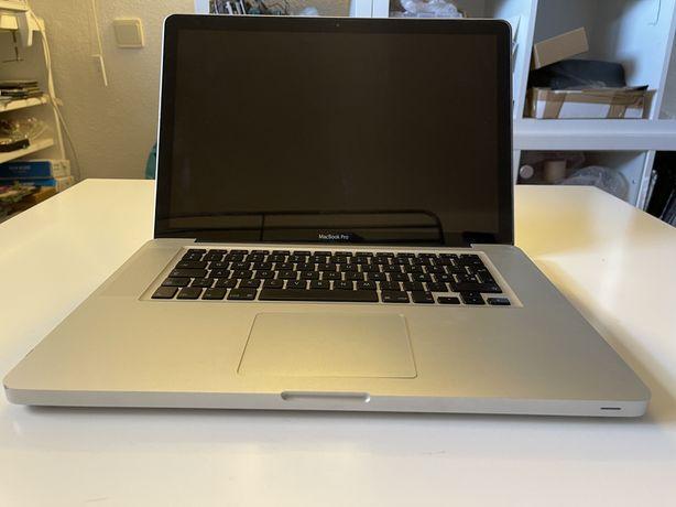 """Macbook Pro 15"""" 2010 A1278 - avariado para peças"""