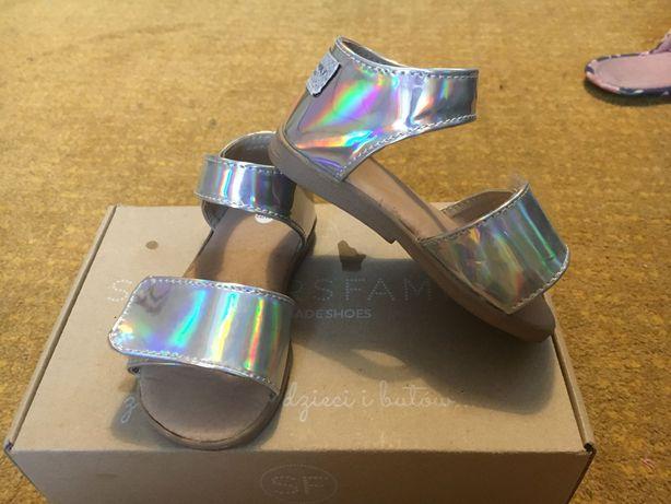 Sandały skórzane dla dzieci GALAXY Slippers Family.