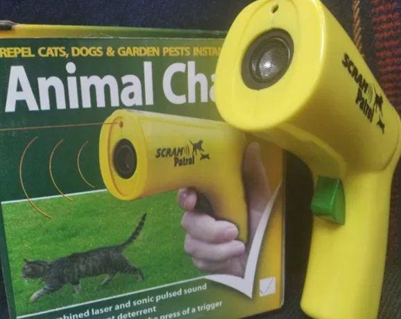 Ультразвуковой отпугиватель собак лазер Kronos 0027 от Животных