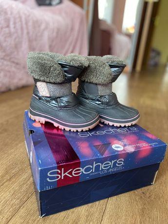 Зимние сапожки, ботинки skechers