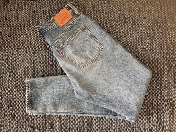 jeansy levis 501 high waist mom jeans rozm. 27 s