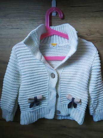 Sweterek dla dziewczynki rozm.86