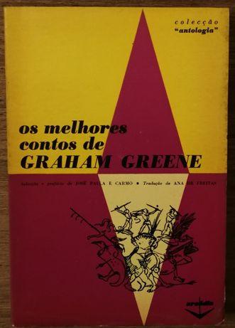 os melhores contos de graham greene, colecção antologia, arcádia
