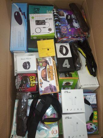 Коробка товара микс ящик бокс товар перепродажа заработок дома али