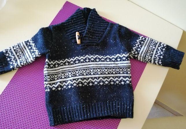 Sweter chłopięcy 68