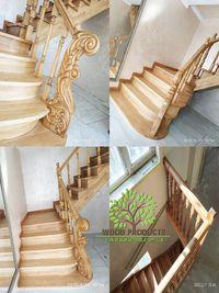Виготовлення сходів та монтаж сходів, балюстрада, балясини, сходи