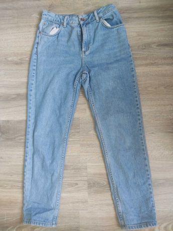 Top shop mom jeans oversize wysoki stan