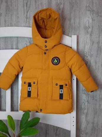 Зимняя куртка для мальчика 92,98,104,110см.