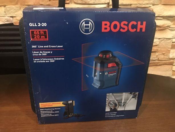 Лазерный уровень нивелир Bosch gll 2-20 из США