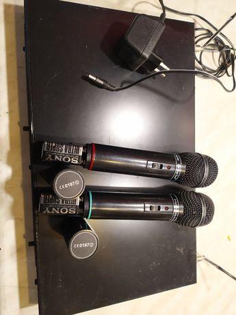 Shure 2x IMG Stage Line TXS-860SET Mirofon bezprzewodowy odbiornik