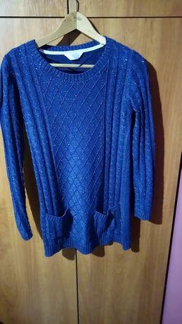 Długi sweterek , tunika XL