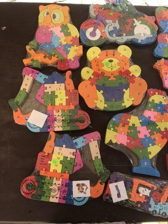Іграшка,букви,розвиваюча ігра,дерев'яна ігра,цифри,букви,пазил,пазли