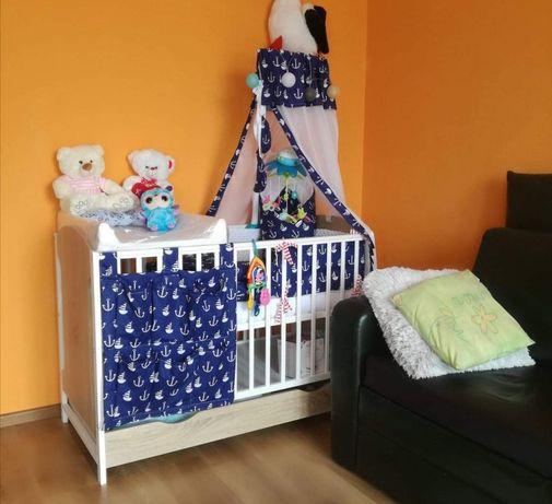 Komplet/zestaw do łóżeczka dla chłopca