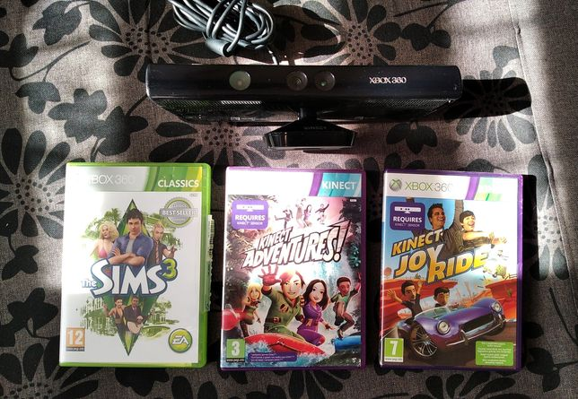 Kinect oraz gry na Xbox 360 sims3, Joy rider, Adventures