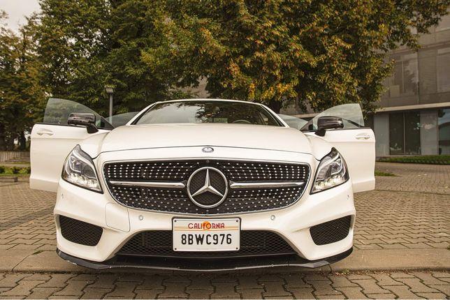 Mercedes CLS AMG unikat z Californii do ślubu