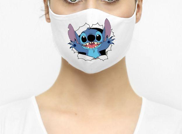 Maseczka maska ochronna Disney postacie Stich