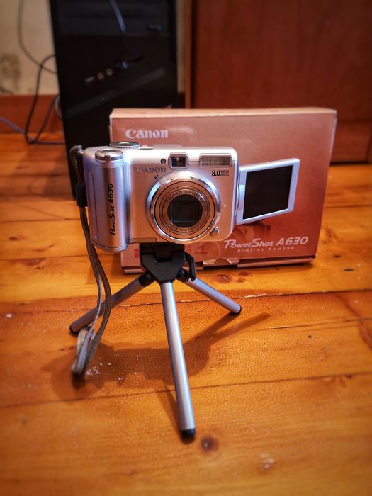 Цифрова фотокамера Canon PowerShot A630 Тернополь - изображение 1