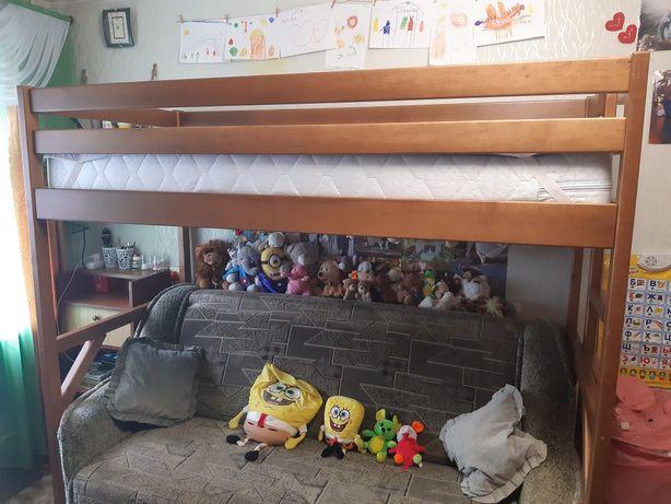Кровать-чердак 2м×90см