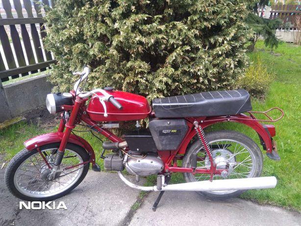 Romet  Ogar 200 silnik Jawa
