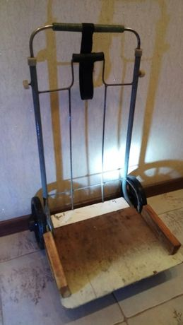 Тележка (кравчучка) прочная и легкая (3 кг.) Размеры 66 см./38 см.