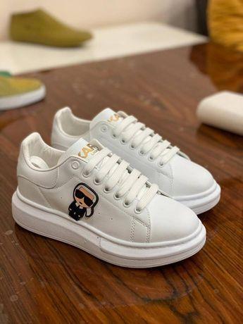Buty damskie Karl Lagerfeld. Rozmiar 36, 37, 38, 39, 40. Kolor biały.