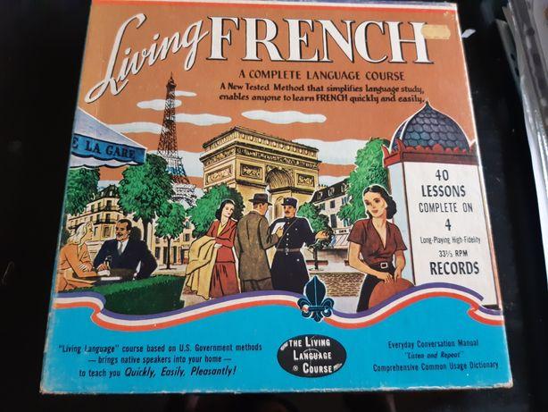 Curso francês vintage Living French