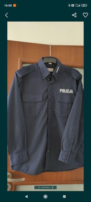 Koszula służbowa Policja dł. rękaw Kościan - image 1