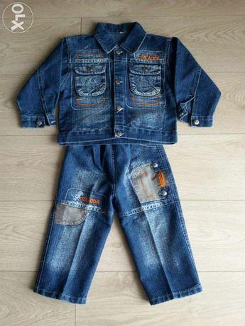 Продам джинсовый костюм!