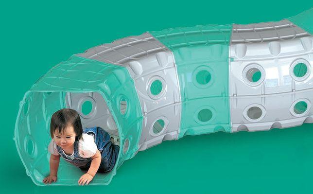 Туннель детский пластиковый 6 секций Doloni, тоннель, тунель игровой