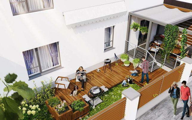 Квартира з власним подвір'ям