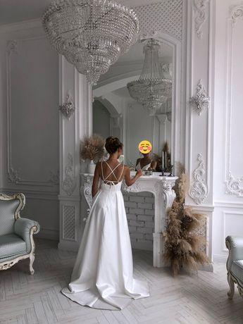 Свадебное элегантное платье