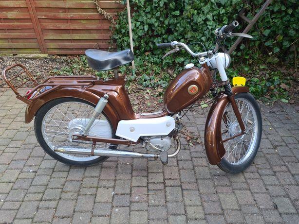 Motorower holenderskiej firmy odrestaurowany