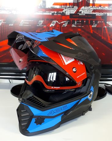 Мотошлем LS2 MX436 PIONEER шлем 2020г: ls2.com.ua