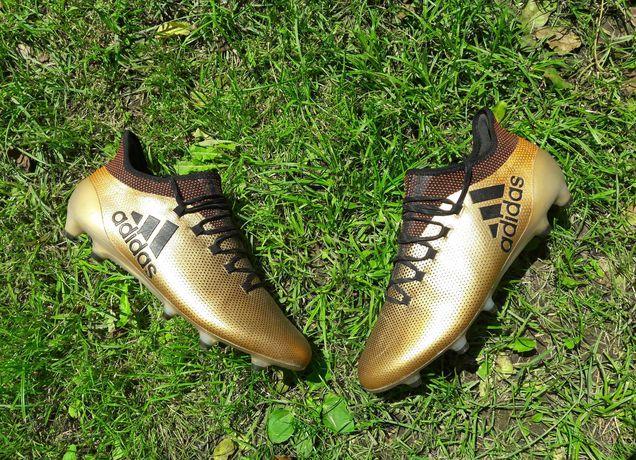 Бутси оригінальні Adidas X 17.1 FG Gold