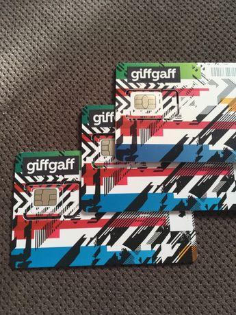 starter UK anglia giffgaff 5GBP gratis! karta sim przesyłka GRATIS