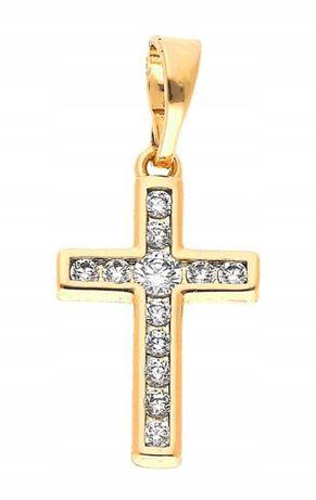 Zawieszka krzyż krzyżyk stal chirurgiczna :) Cudo :)