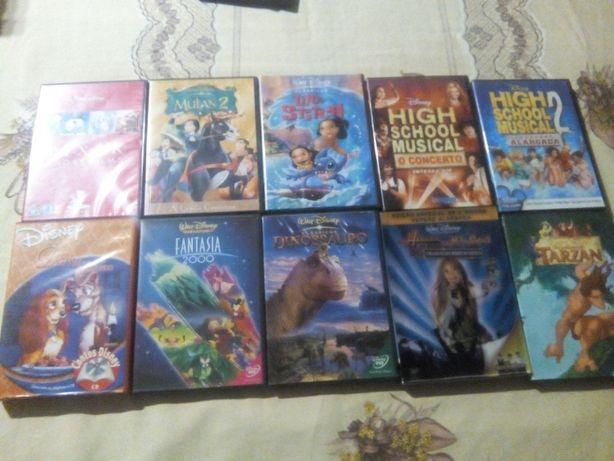 DVD's Walt Disney (Vende-se tudo ou separadamente)