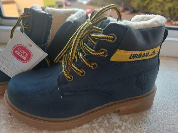 Новые зимние ботинки cool club