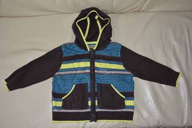 sweterek MOTHERCARE, rozmiar 80, sweter, bluzka, bluza dla chłopca