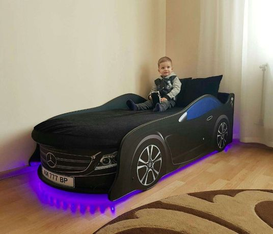 Для ребенка Удобная Кроватка Машинка, +Бесплатная доставка/Рассрочка